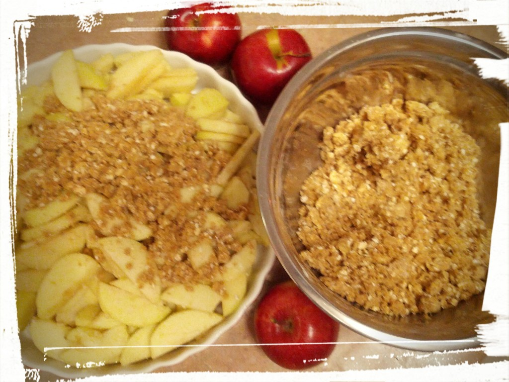 A is for Apple, B is for Bake, C is for Crumble