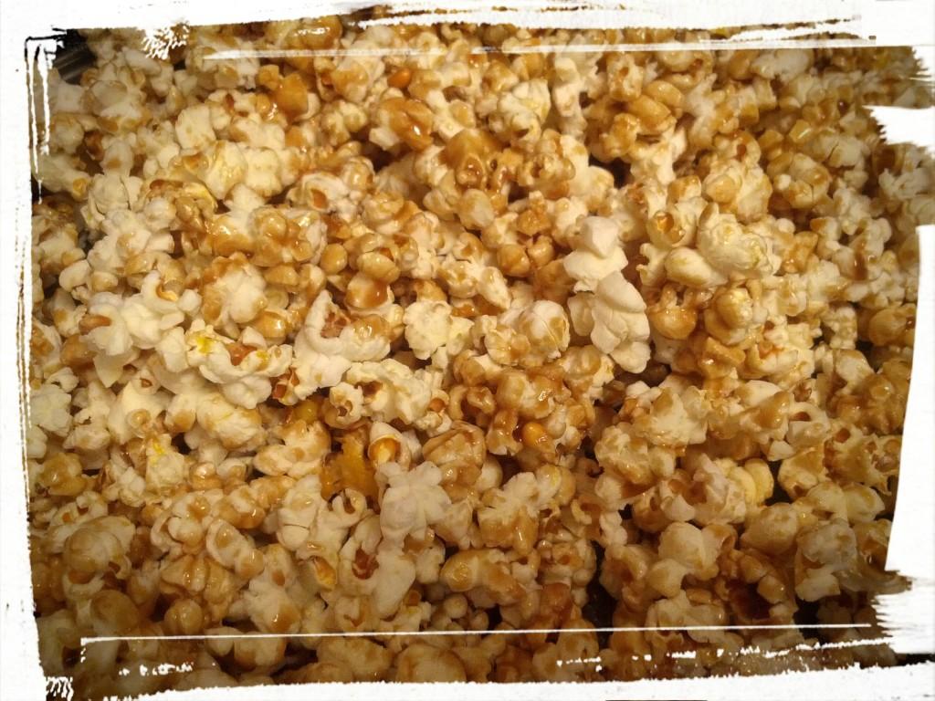 Caramel Corn...mmph gobble gobble munch.