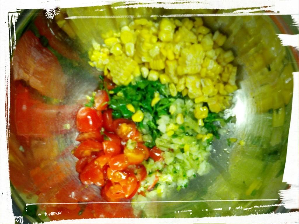 Fresh ingredients = fresh flavour!