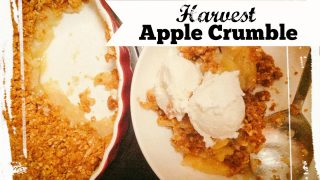 Healthy Harvest Apple Crumble