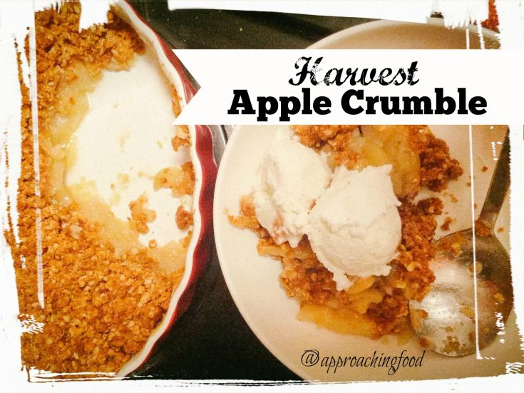 Healthy Harvest Apple Crumble