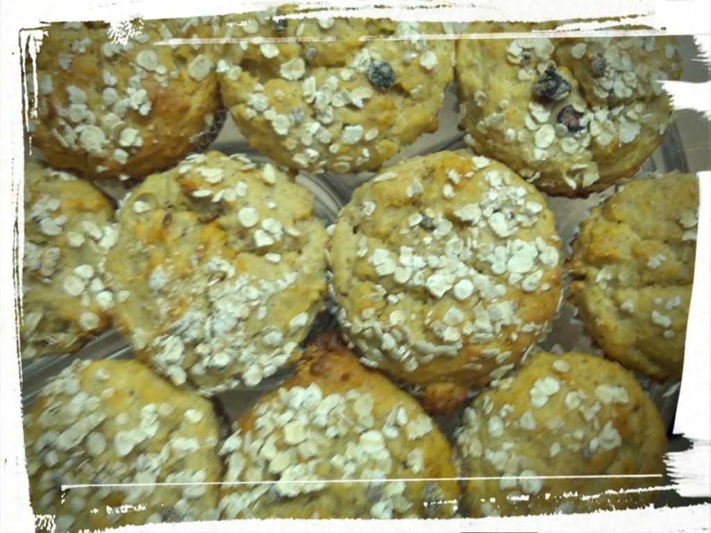Platter o' muffins!