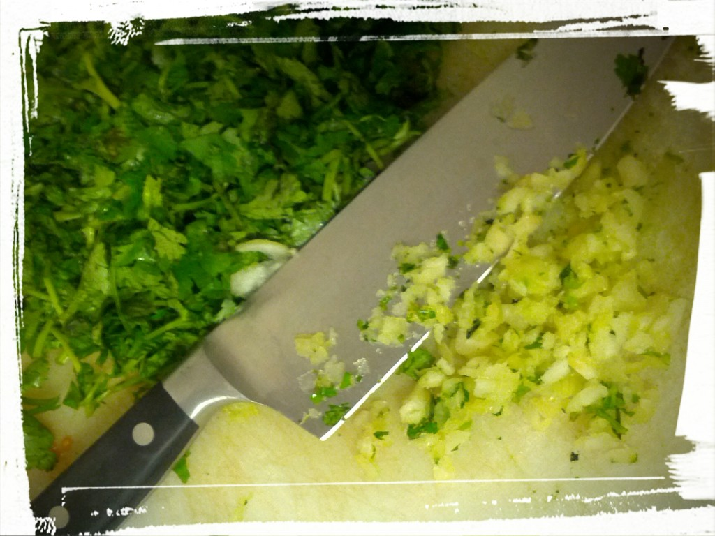 Rustic vs. finely chopped. Eh. Each to his/her own.
