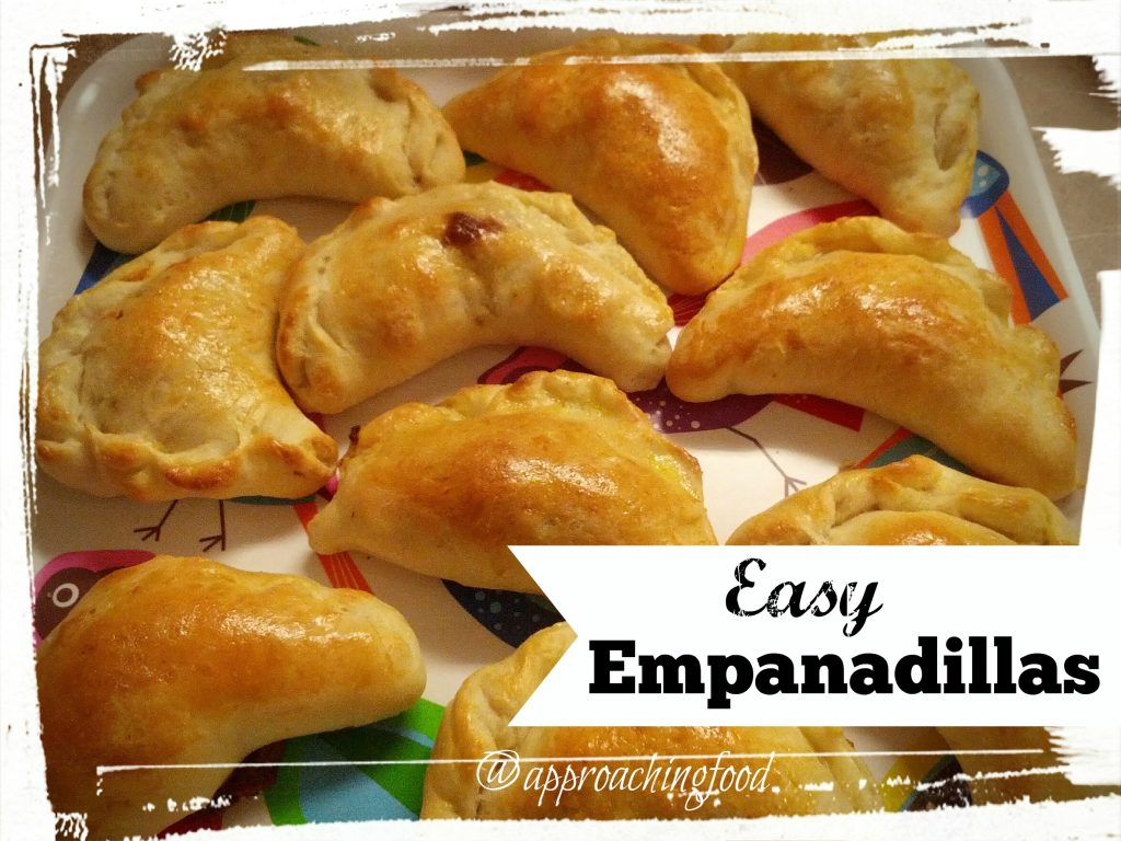 Freshly baked empanadillas