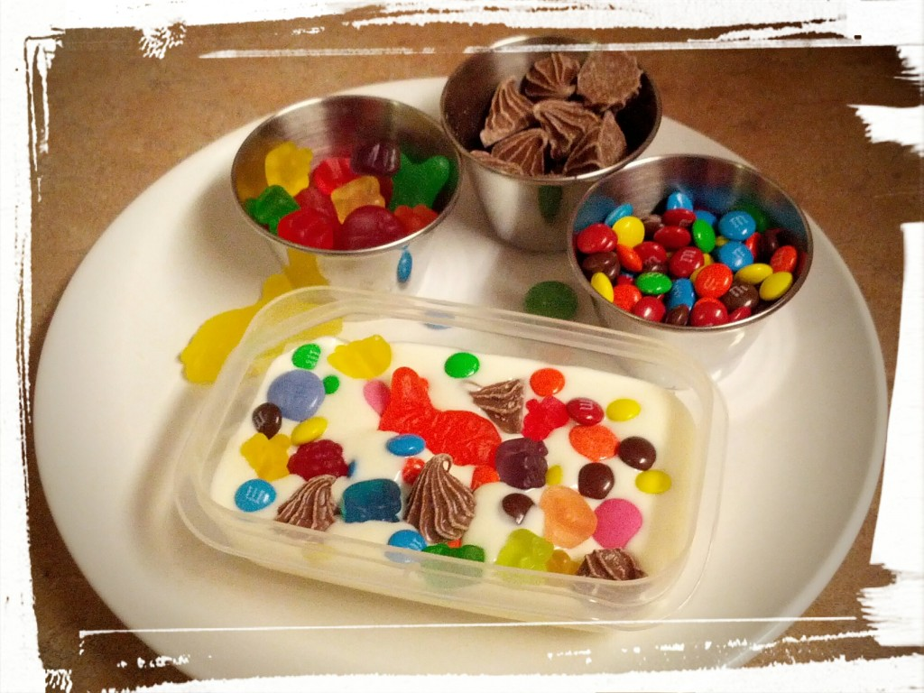Customize away! And then eat the leftovers. #wastenotwantnot (especially in regards to candy!)