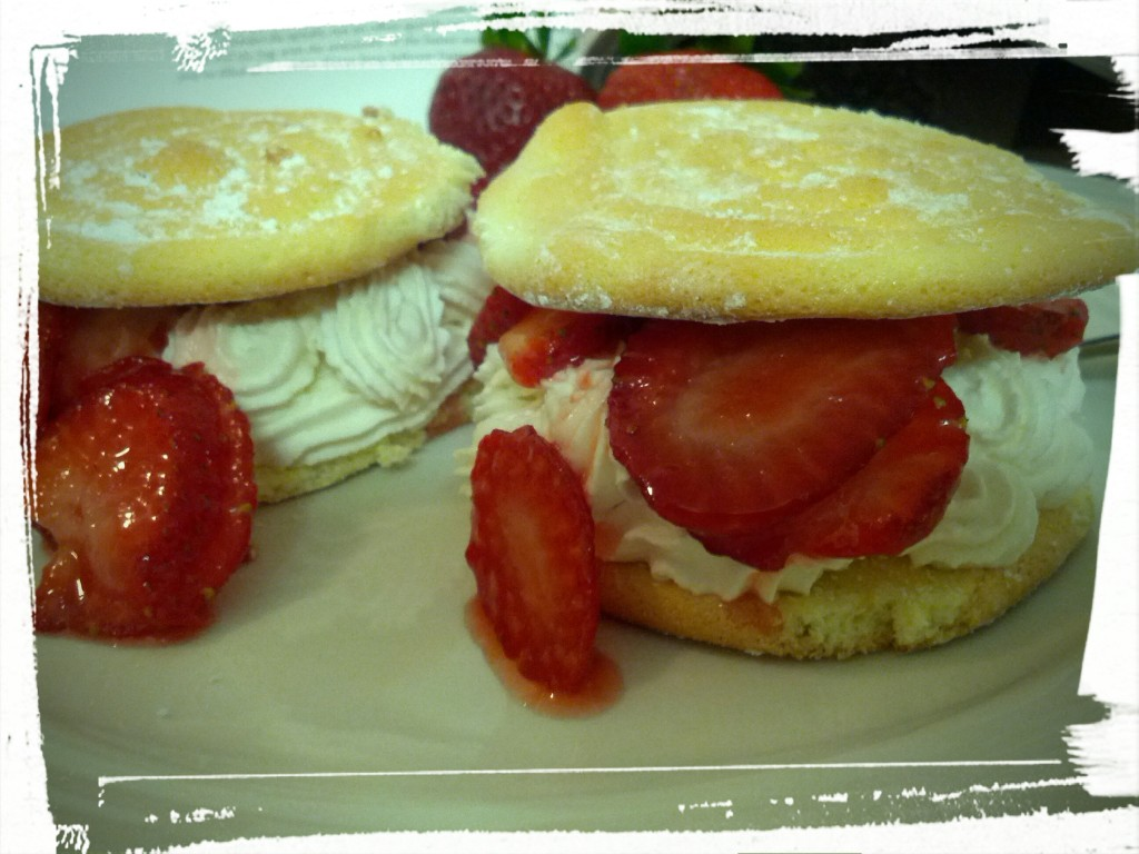 Put down the camera and eat me already! Sincerely, Strawberry Shortcakes.