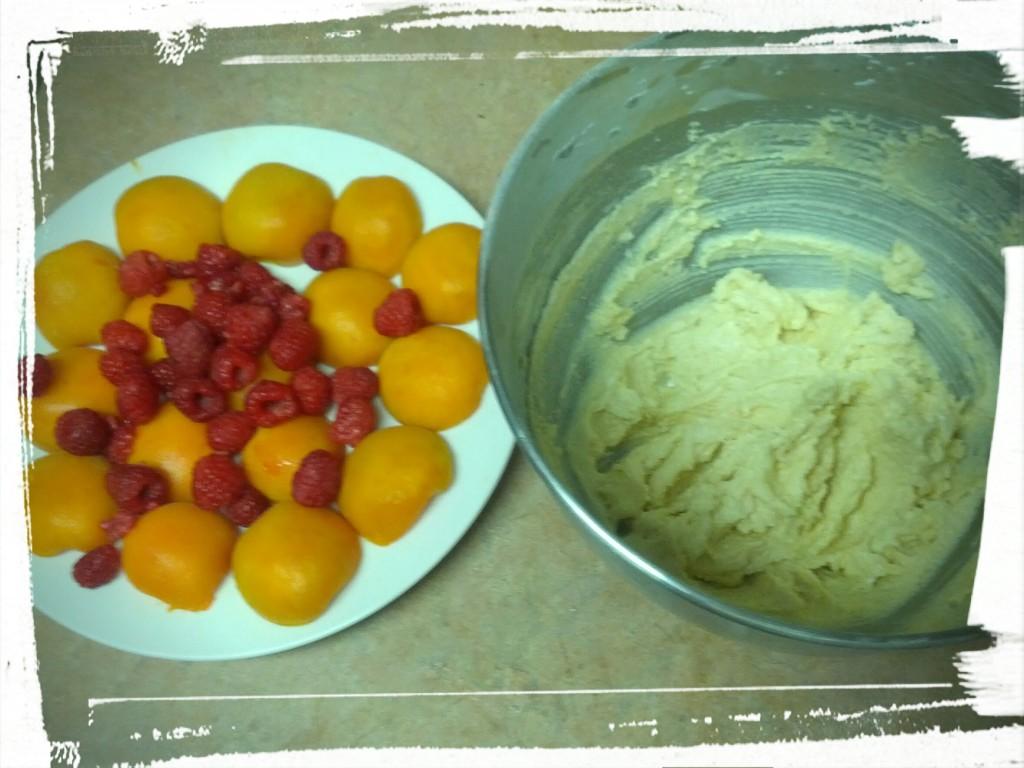 Add fresh fruits and almond cream. Taste testing is key.