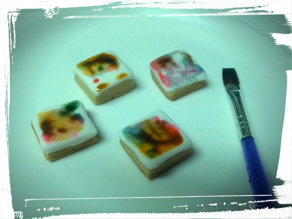 Edible watercolours! So pretty!