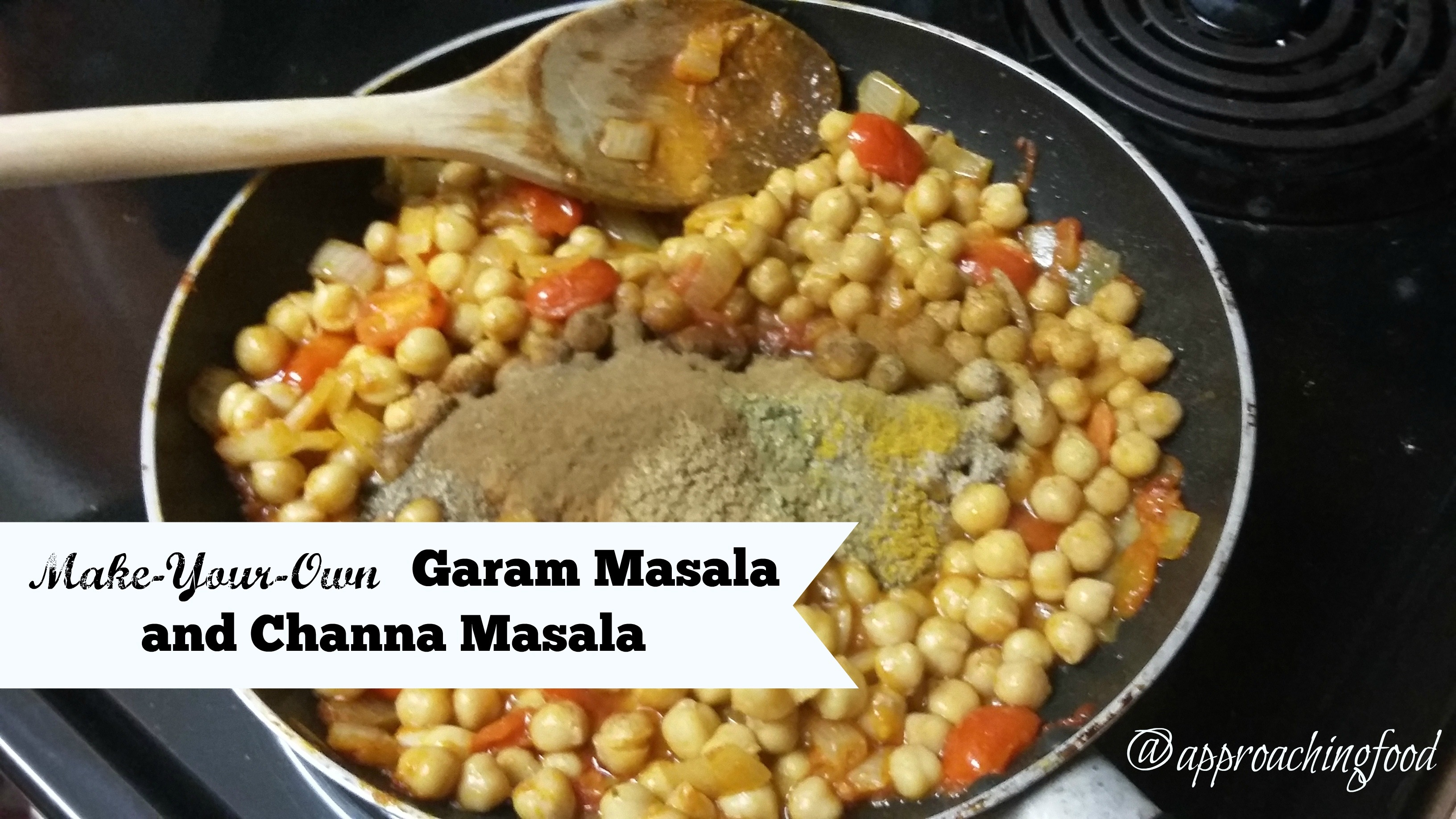 What not to do: use ALL the garam masala spice at once! Just no.