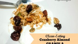 Clean-Eating Cranberry Almond Granola