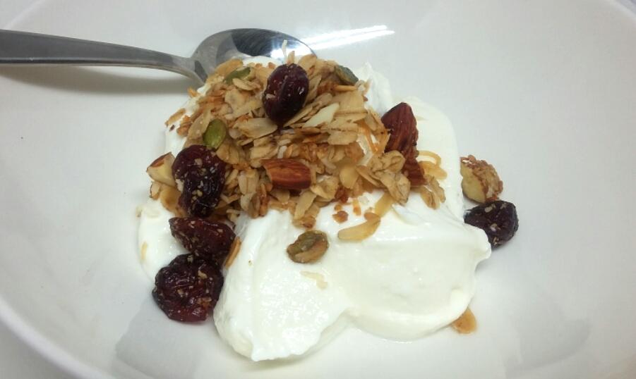 Yum yum, in my tum! Or on top of homemade Greek yoghurt.