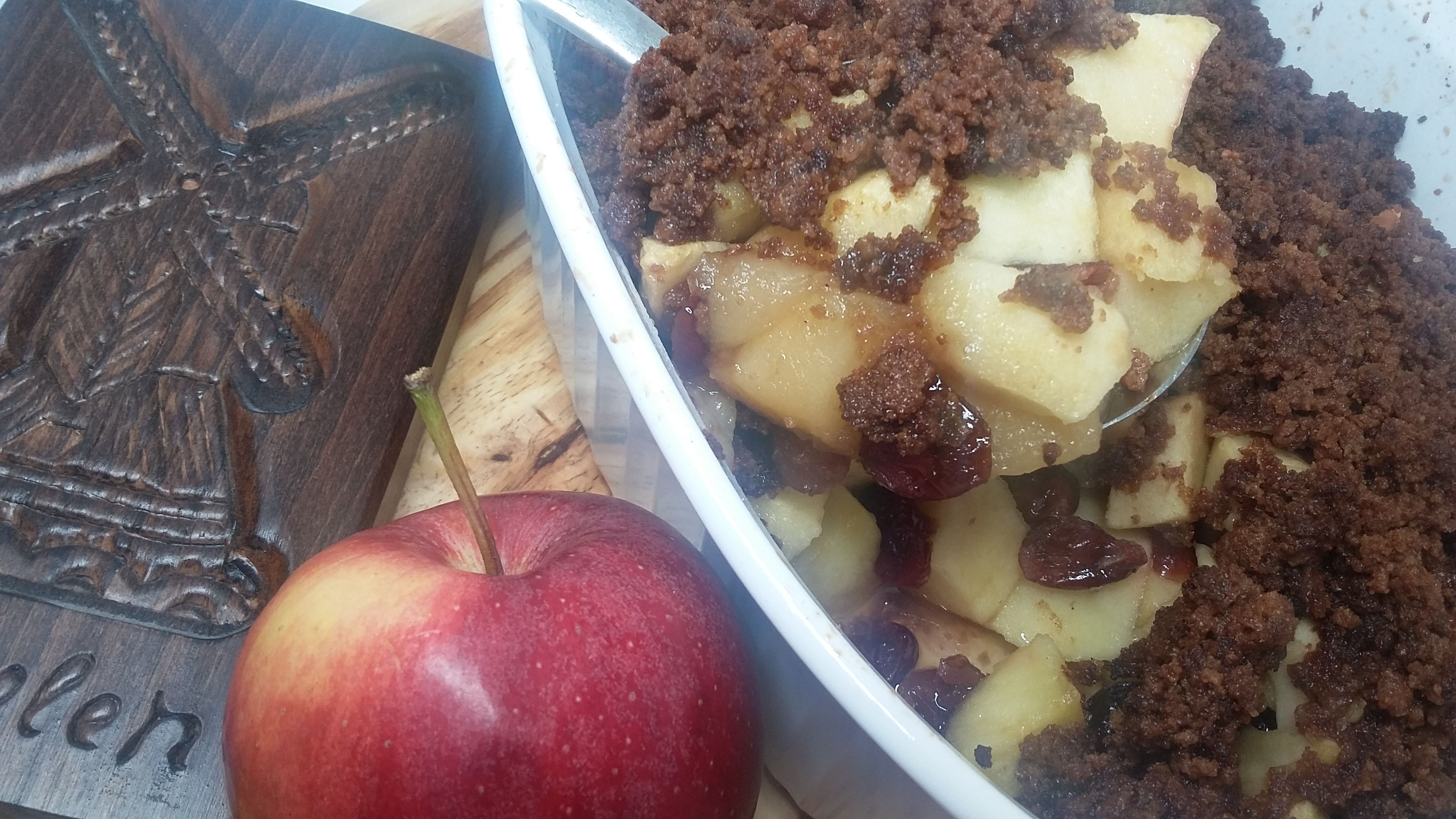 Apples and cranberries and cookies, oh my!