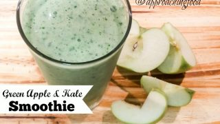 Green Apple & Kale Smoothie