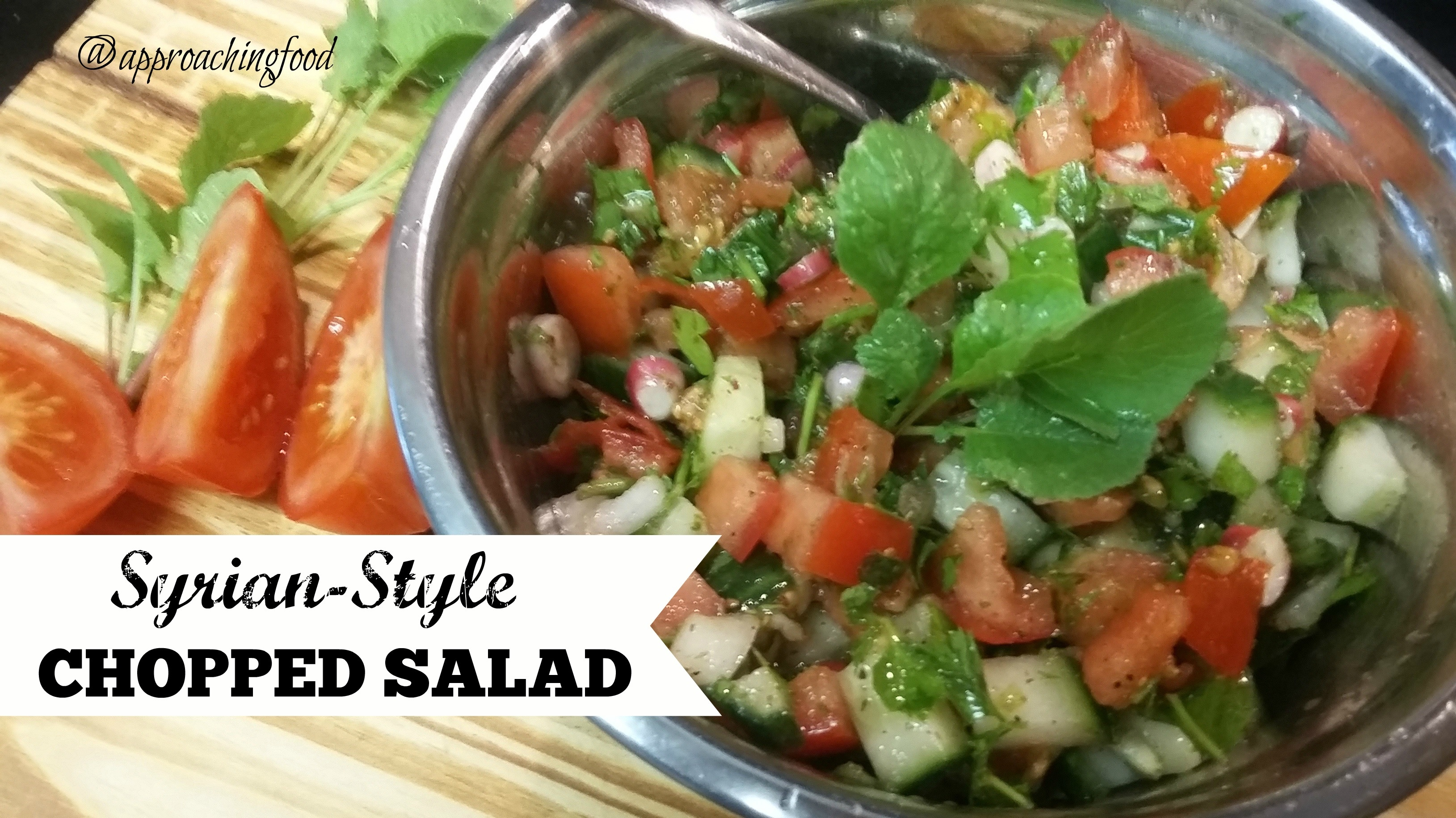 Syrian style chopped salad an easy beat the heat dish syrian style chopped salad an easy beat the heat dish forumfinder Choice Image