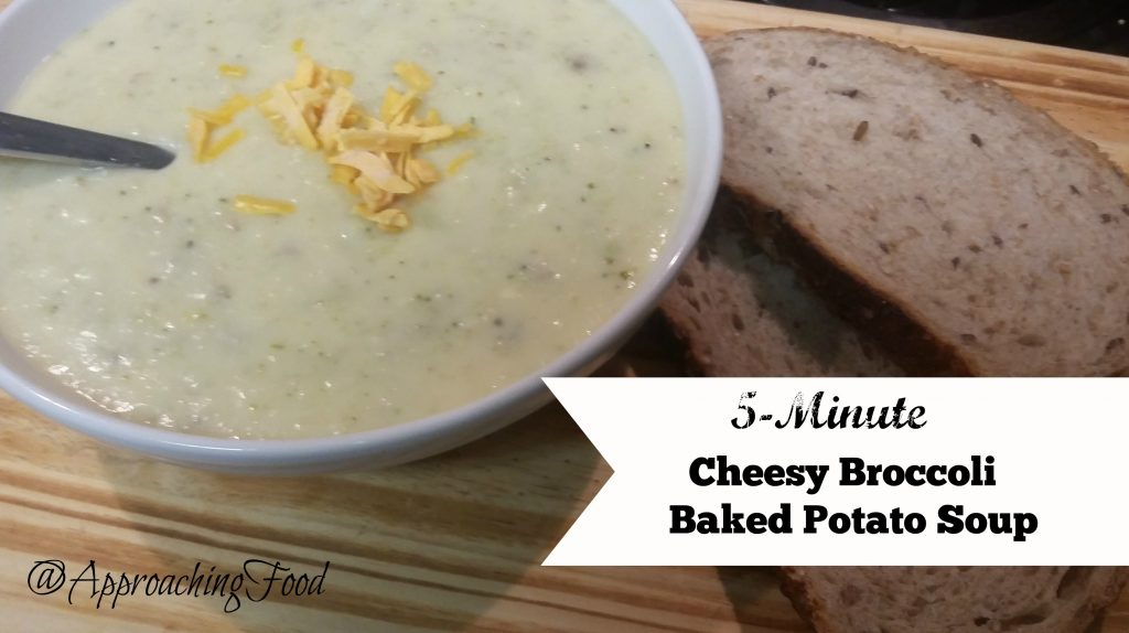 Cheesy Broccoli and Baked Potato Soup