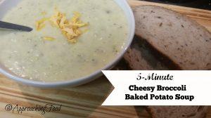 Cheesy Broccoli and Baked Potato Soup
