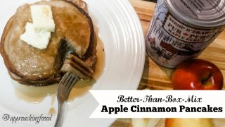 Better-Than-Box-Mix Apple Cinnamon Pancakes