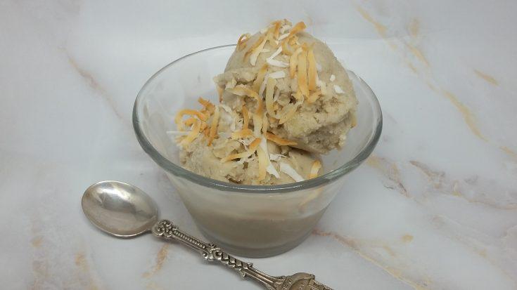 Tropical Coconut & Banana Nice Cream
