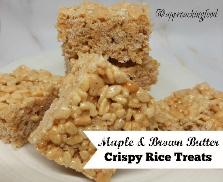 Maple & Brown Butter Crispy Rice Treats