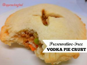 Preservative-free vodka pie crust, great for both hearty or sweet pies.