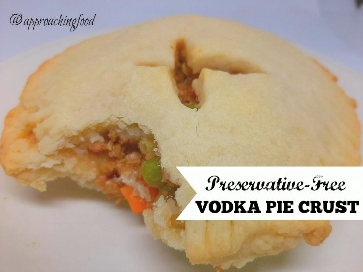 Preservative-Free Vodka Pie Crust
