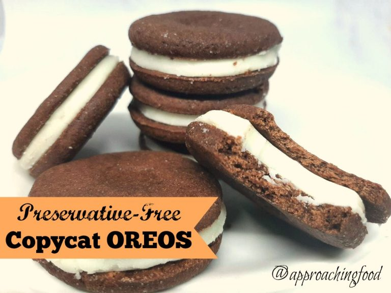 Delicious creme-filled chocolate sandwich cookies!