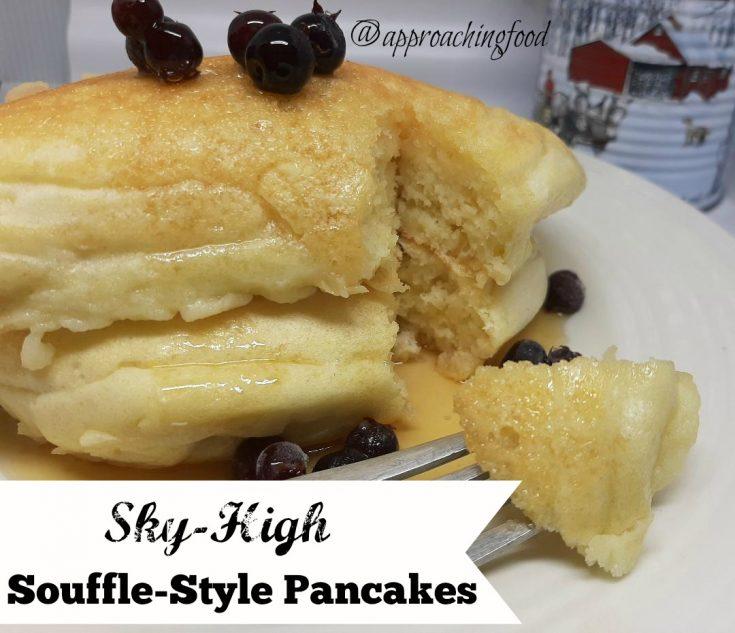 Sky-High Souffle-Style Pancakes
