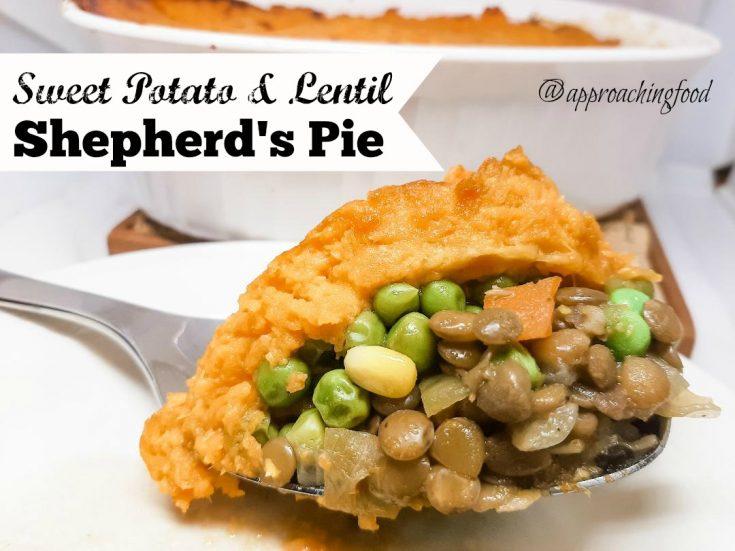 Sweet Potato & Lentil Shepherd's Pie