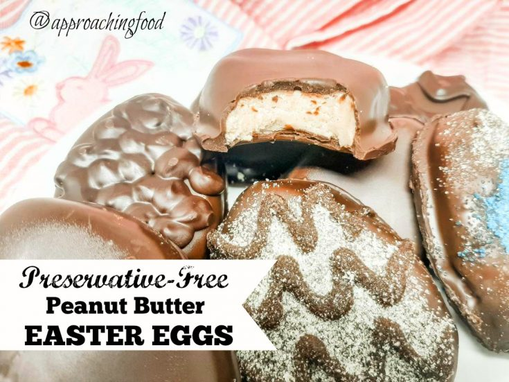 Preservative-Free Peanut Butter Easter Eggs