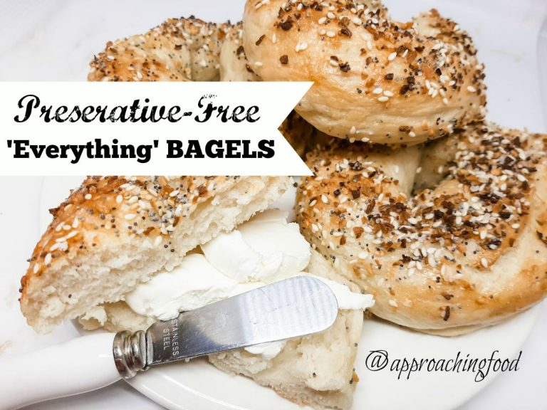 Freshly baked bagels smeared with cream cheese? Yes, please!