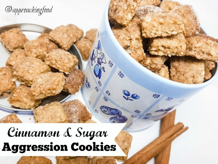 Cinnamon Sugar Aggression Cookies