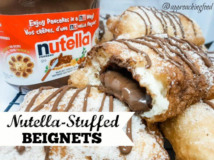 Shortcut Nutella-Stuffed Beignets