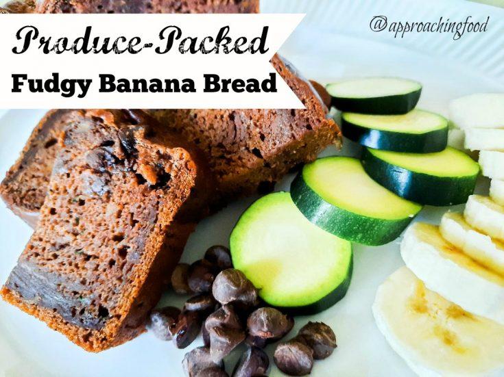Produce-Packed Fudgy Banana Bread