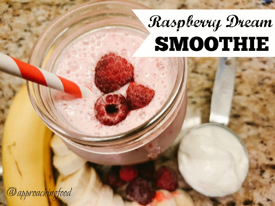 Raspberry Dreams Smoothie