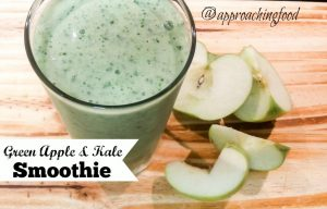 Pale green smoothie -- so pretty and healthy!