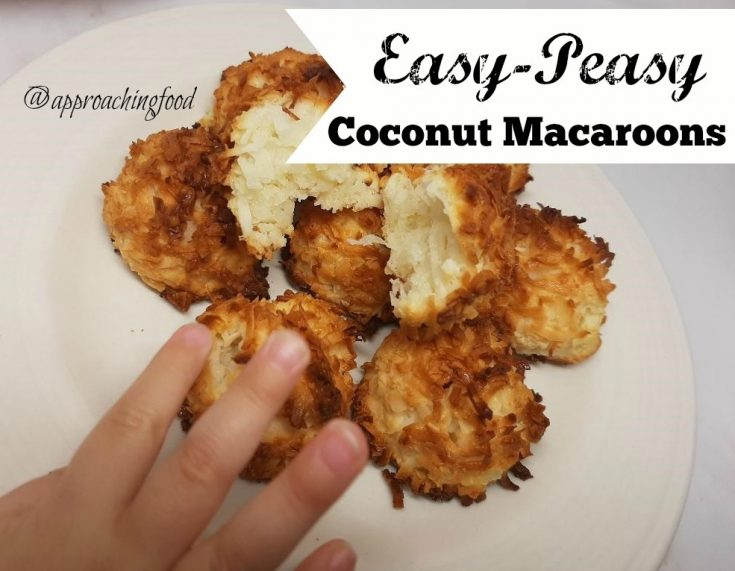Easy-Peasy Macaroons